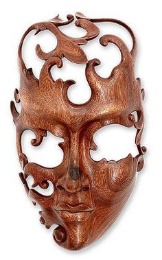 maori face carving side view - Google Search