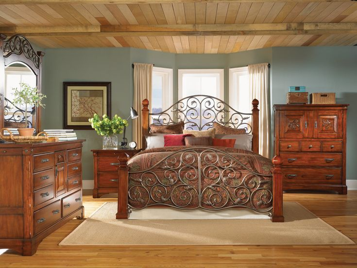 Best 25+ Solid wood bedroom furniture ideas on Pinterest | Rustic ...