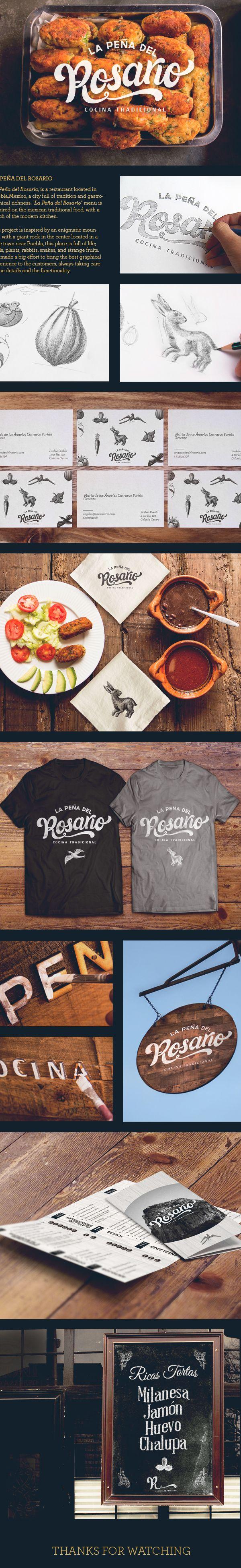 #Identity / restaurant #branding #design