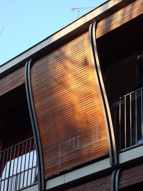 Rue des Suisses Apartment Buildings   Paris, France_Herzog & De Meuron facade