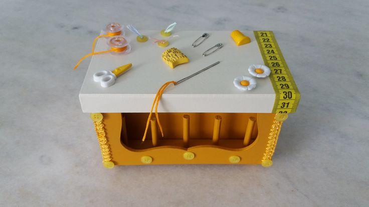 Caixa costura      www.elo7.com.br/esterartes
