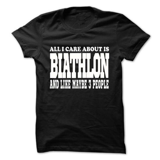 all i care about is biathlon #tee #teeshirt