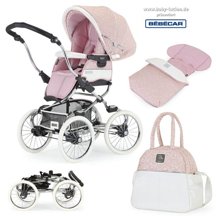 Das #Bebecar Kinderwagengestell kann auch mit einem Sportwagenaufsatz in der gleichen Farbgebung genutz werden (LP397). Darüberhinaus ist eine #Wickeltasche, ein Sonnenschirm, sowie der passende Fußsack ebenfalls erhältlich.