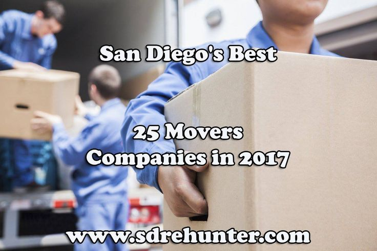 ✔️ [Blog Post] San Diego's Best 25 Movers Companies in 2017 🚛 🚚 🚐