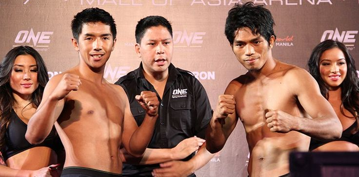 ONE: Spirit of Champions Lands Filipino Flyweights Eugene Toquero and Geje Eustaquio #MMAAsia #AsianMMA #pinoypride #manila #onefc