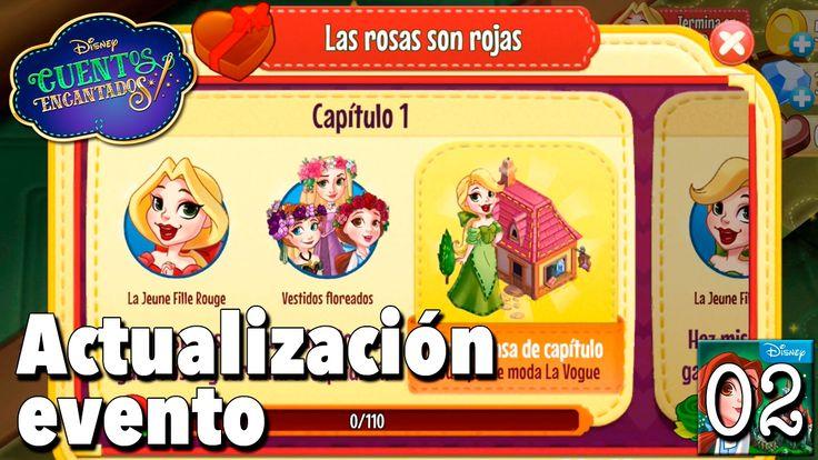 Actualización evento / Juego Disney Cuentos Encantados - Gameplay