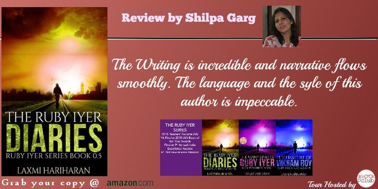 #FreeAlert #Giveaway $10Amazon Giftcard  Ignored by her mother, a 16 year old runaway, struggling to survive the crowded streets of Bombay….#blogtour #thebookclub Shilpa Garg #Reviews Ruby Iyer Diaries by Laxmi Hariharan http://shilpaagarg.com/2015/11/the-ruby-iyer-diaries.html
