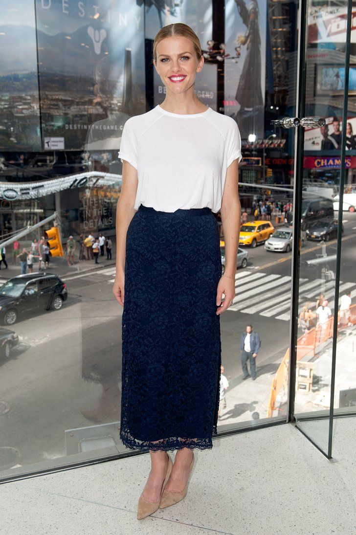Pin for Later: Brooklyn Decker Makes Dressing Up This Easy Brooklyn Decker