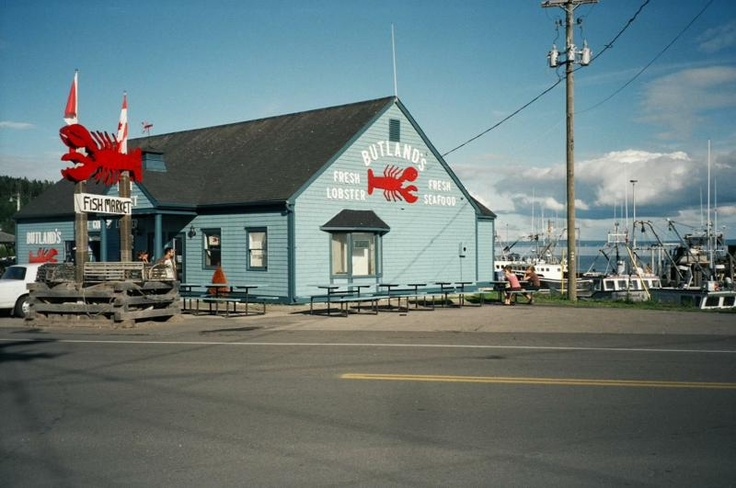 Canada - Bay of Fundy - Elma. Ate lobster here