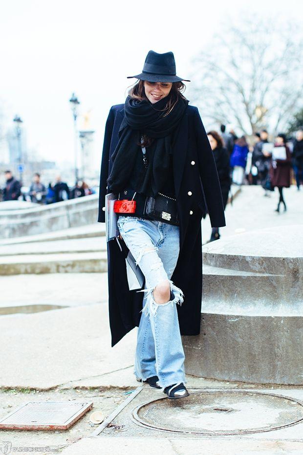Boyfriend jeans done right: at Chanel - Fashionising.coms Fashion Blog - Fashion Trends & Celebrity Fashion