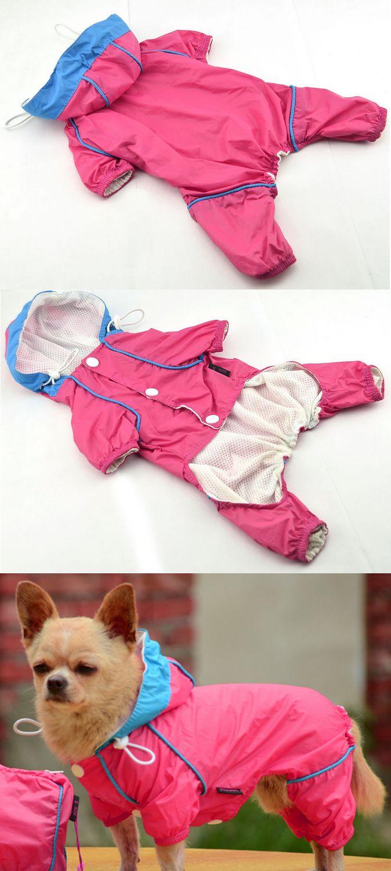 Impermeable importado. Fácil de quitar y poner. La capucha se puede regular. Ropa para #perros #impermeables #mascotas  www.facebook.com/bonimascotas