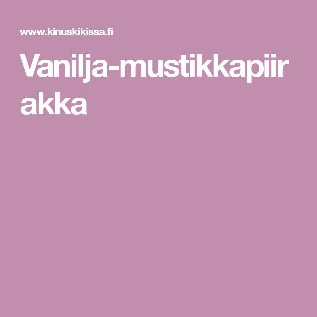 Vanilja-mustikkapiirakka