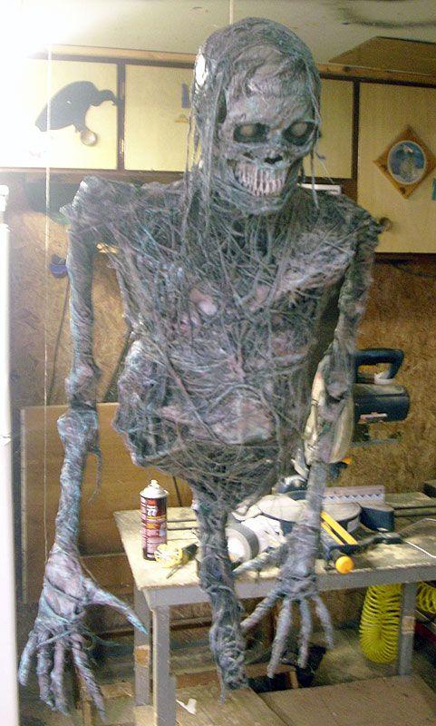 Stunning DIY Halloween Decorations. See More. Zombie Build How To 1 And 1/2  Dead Men   HauntForum