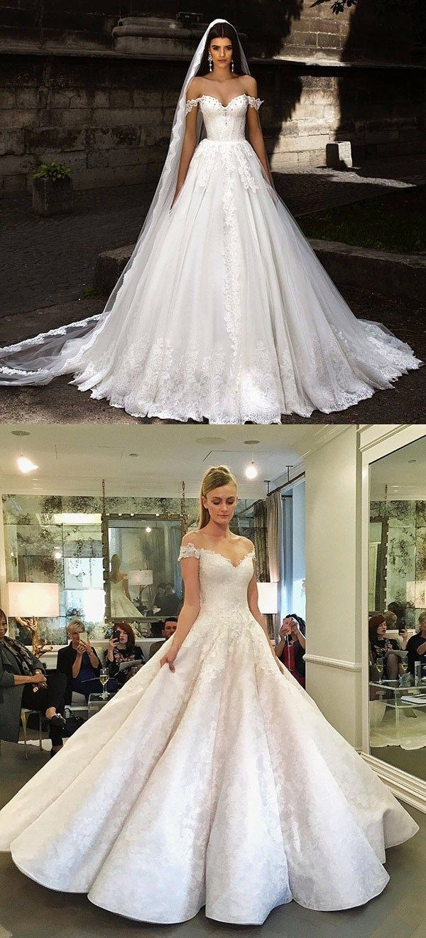 130 Dreamy Princess Ball Gown Wedding Dresses For Fairytale Brides Forevermorebling Wedding Blog Wedding Dresses Cinderella Princess Wedding Dresses Cinderella Princess Wedding Dresses Bling [ 1319 x 600 Pixel ]