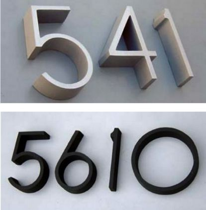 70 best house numbers images on Pinterest House numbers Address