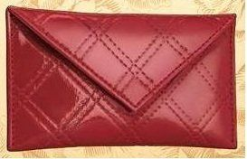 "Estee Lauder 100% PVC Red Quilted Patent Beauty Makeup Cosmetic Mini Bag / Coin Purse by Estee Lauder. $1.98. 5.5"" (L) x 3"" (H). Estee Lauder 100% PVC Red Quilted Patent Beauty Makeup Cosmetic Mini Bag / Coin Purse. With buckle, no zip closure, red lining inside.. Mini size, coin purse. Estee Lauder 100% PVC Red Quilted Patent Beauty Makeup Cosmetic Mini Bag"