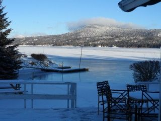 Lakefront and gorgeous, walk to Village, spa, pool table, book now for winter.Vacation Rental in Big Bear Lake from @homeaway! #vacation #rental #travel #homeaway