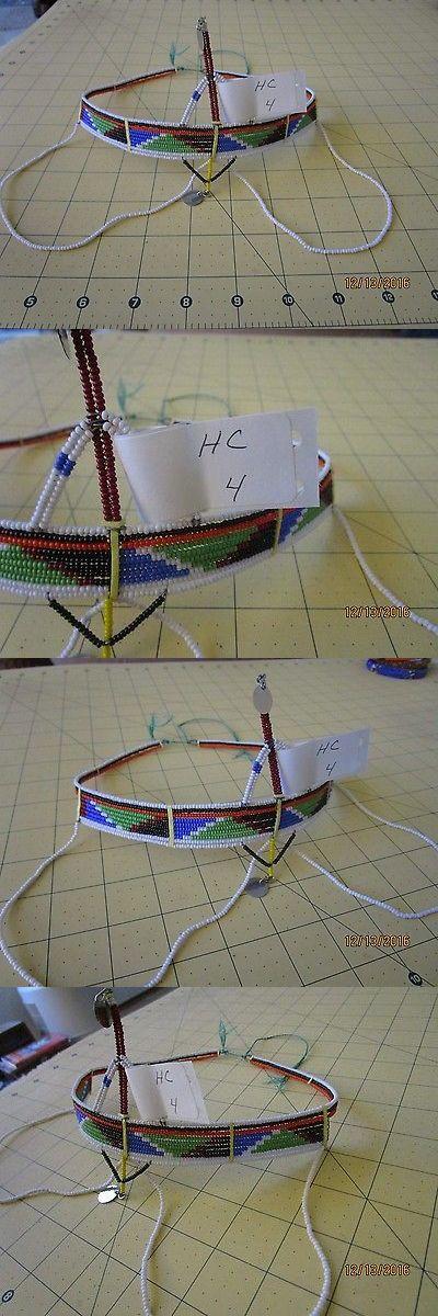 Other African Jewelry 34064: African Maasai (Masai) Bead Head Crown Tiara Kenya Hc 4 -> BUY IT NOW ONLY: $38.99 on eBay!