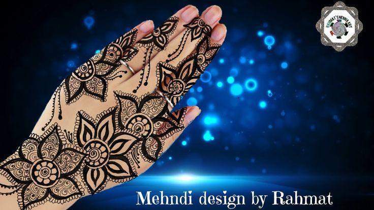 New trendy mehndi design  Step by Step latest mehndi design for hands   ...