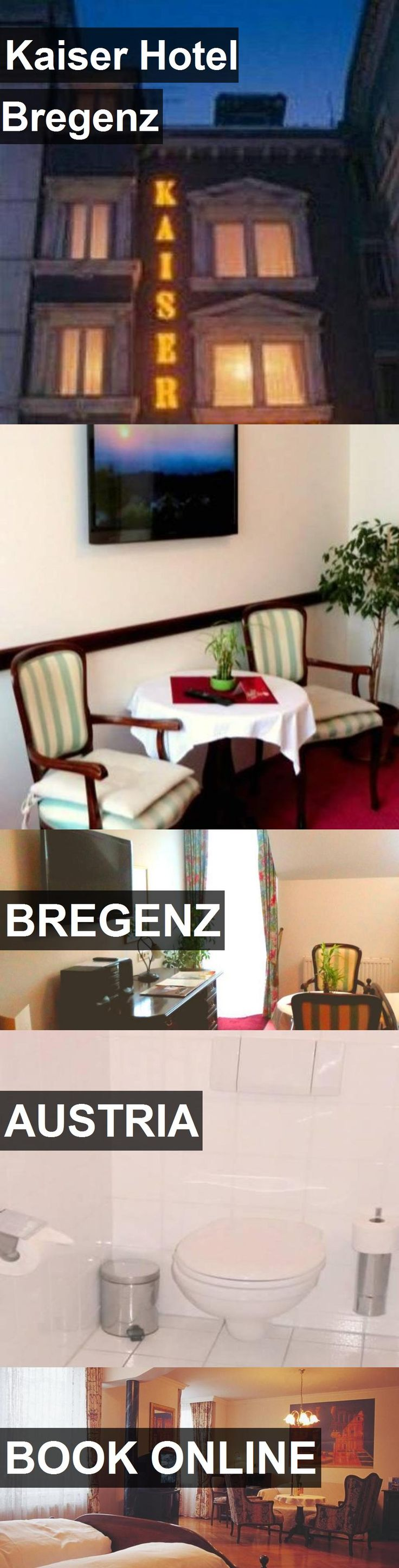 Kaiser Hotel Bregenz in Bregenz, Austria. For more information, photos, reviews and best prices please follow the link. #Austria #Bregenz #travel #vacation #hotel