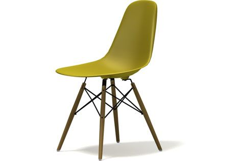 EPC DSW Eames Plastic Side Chair, Senf, EUR 335