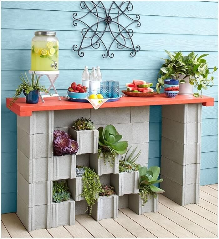 The 25 best ideas about Cinder Block Furniture on Pinterest