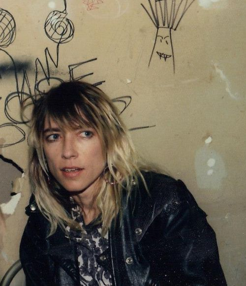 """People pay to see others believe in themselves,"" Kim Gordon. @thecoveteur"