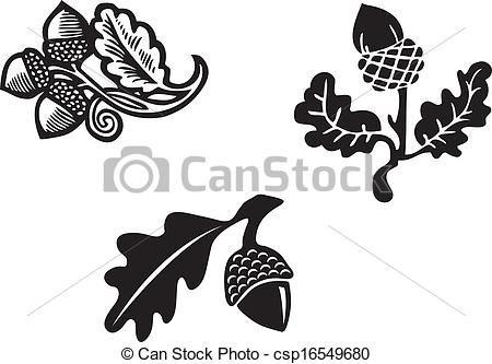 Vector - Acorn - stock illustration, royalty free illustrations, stock clip art icon, stock clipart icons, logo, line art, EPS picture, pictures, graphic, graphics, drawing, drawings, vector image, artwork, EPS vector art