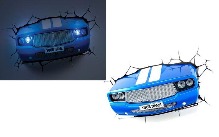 3D Deco Light Classic Car Night Light for Kids - Best Wallpaper HD
