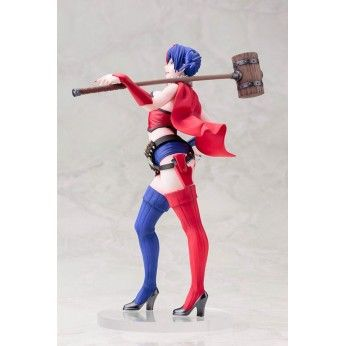 Preorder this Kotobukiya figure now at Statuesque. flexible payments & free EU shipping. This New 52 Harley Quinn stands at 23cm.
