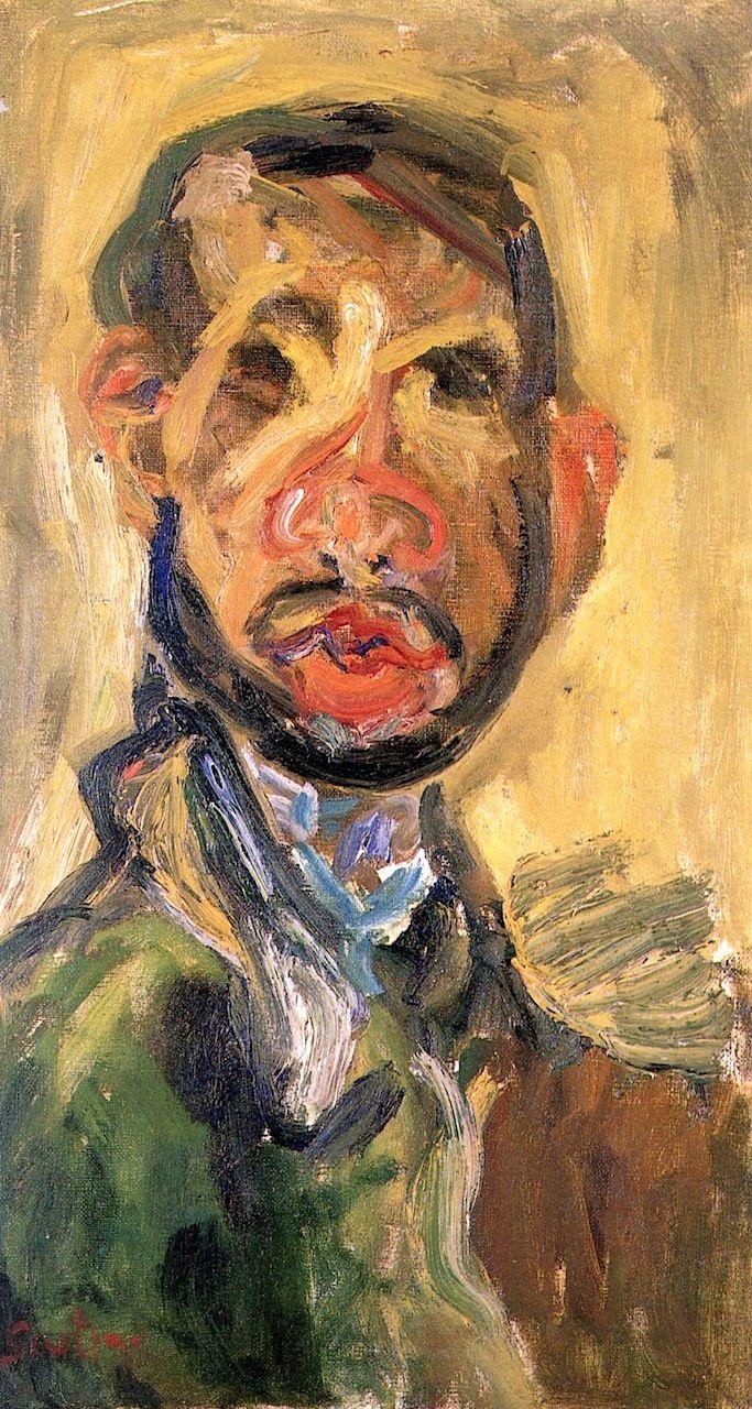 Self-Portrait Chaim Soutine - circa 1920-1921