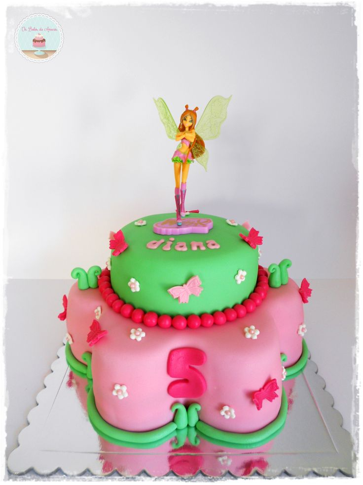 Winxs Cake