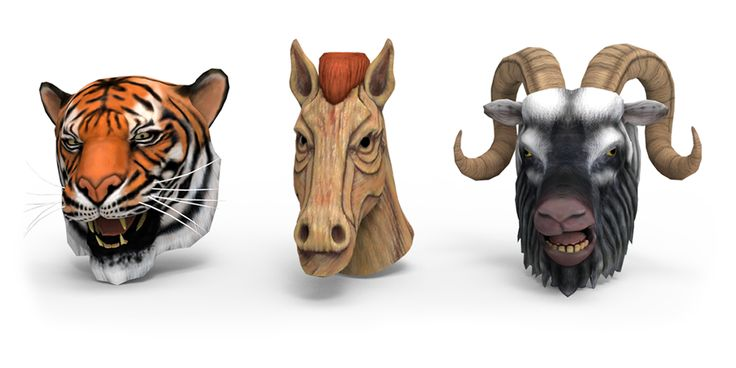 #3D models included in the #augmentedreality experience of the Alive Animals #fashion collection. #clothing
