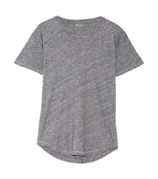 Best t-shirt brands: Madewell Whisper Cotton Jersey T-Shirt