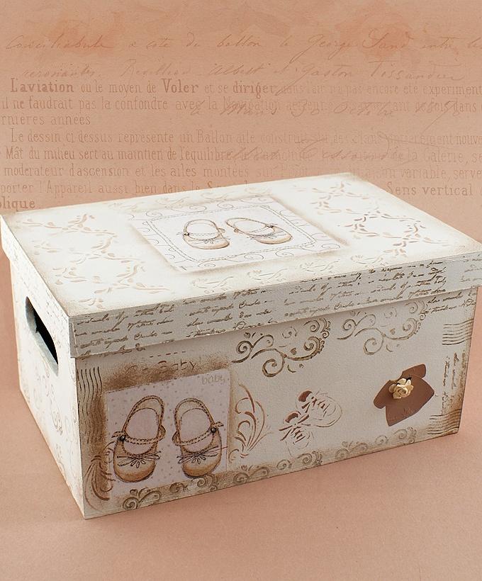 Caja de Madera Baby - Deco Home - Uruguay