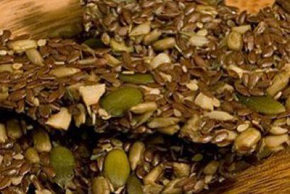 Slané zdravé krekry zo semiačok