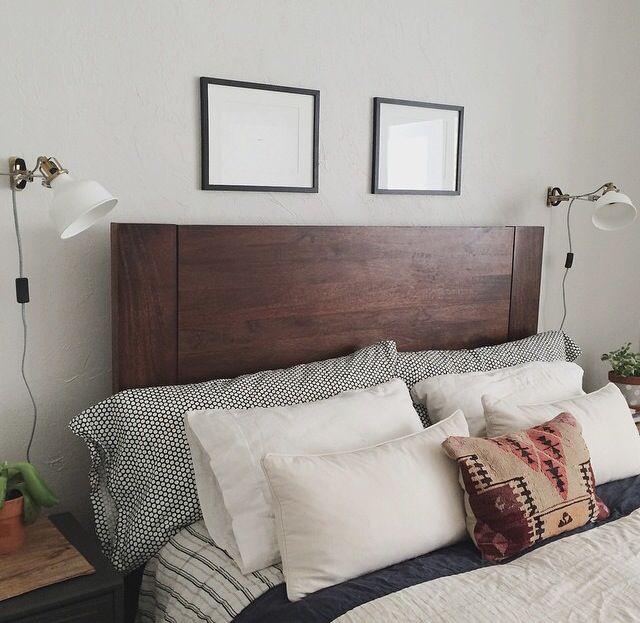 West Elm Bed Frame And Bedding