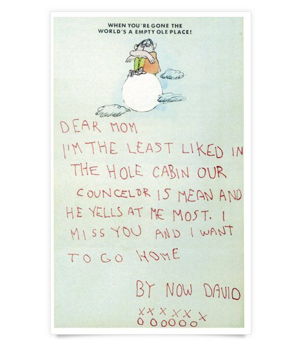 Bad Luck  Children    Best Camp Letters And Hilarious