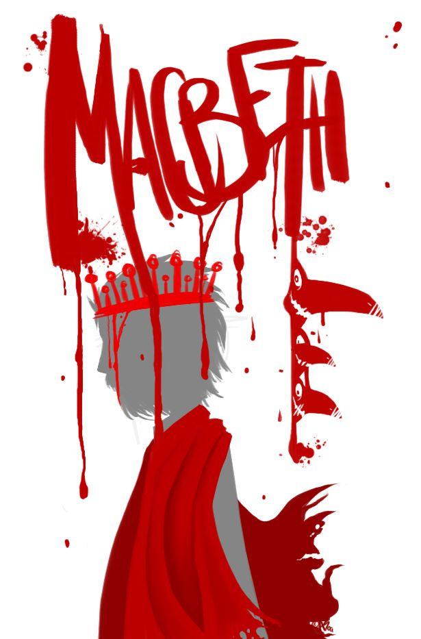 the symbol of blood in macbeth by william shakespeare Form, structure and language of william shakespeare's play macbeth with bbc   the word 'blood' also appears a number of times as a symbol of the guilt that.
