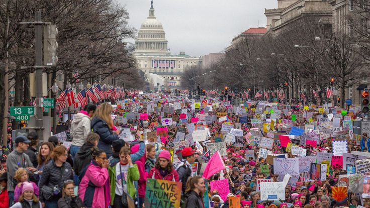 In response to hostile videos by the NRA, progressive activists announce march in nation's capital for next week.