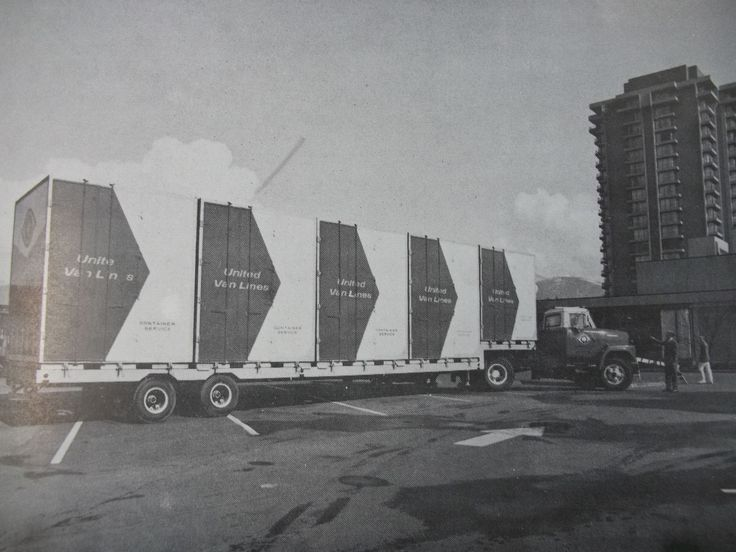 In 1973, United Van Lines (Canada) Ltd. was the first van line to invest in a program that would revolutionize the movement and storage of household goods - a program that would provide an alternative to the conventional van and warehouse service.  The original 18 containers were built in Toronto and hauled to the annual convention for a presentation to the Member Family.  In the summer of 1974, the first actual container move in history was completed.