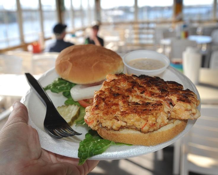 Best Shrimp Burger In Myrtle Beach