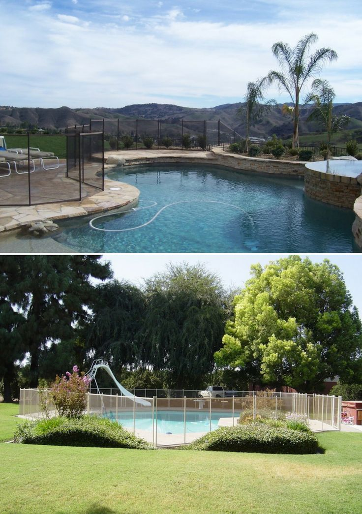 Stylish Pool Fence Ideas Pool fence, Fence design, Diy