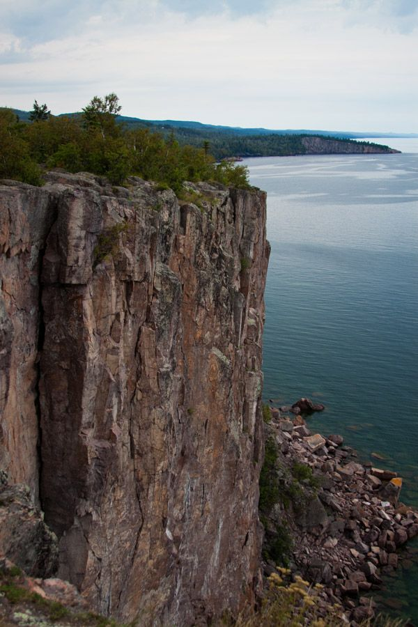 Palisade Head at Tettegouche State Park in Silver Bay, MN