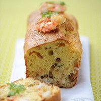 Cake aux crevettes et jambon cru : Toutes les recettes et conseils de cuisine