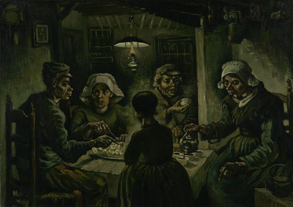 The Potato Eaters, 1885, Vincent van Gogh, Van Gogh Museum, Amsterdam (Vincent van Gogh Foundation)