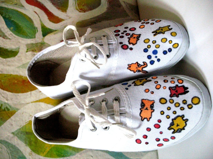 pimped sneakers - Bubble Party With Bears and Rabbits (2009)