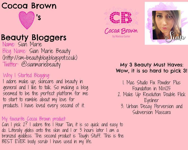Sian - http://sm-beautyblog.blogspot.co.uk/