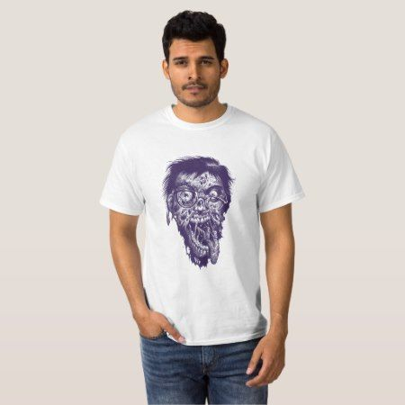 Geek Zombie T-Shirt - tap, personalize, buy right now!
