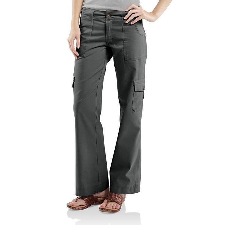 Carhartt Cargo Pants (For Women) in Coal